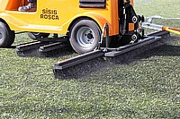 Sisis Rosca helps to keep synthetic playing surfaces to perfection