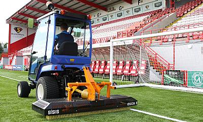 SISIS Osca is pitch perfect for the 'Accies'